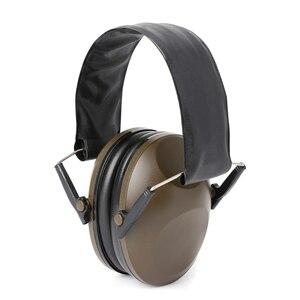 Image 2 - Proteção auditiva dobrável tiro esportes orelha muffs cancelamento de ruído earmuff