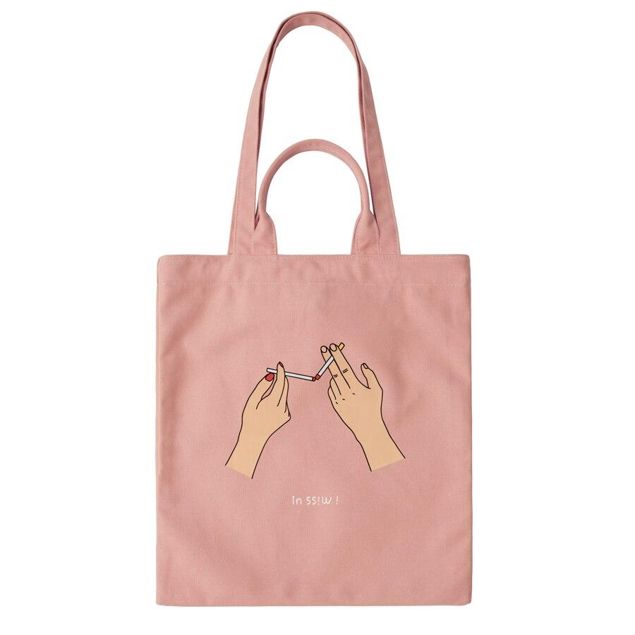 YIZISTORE sacchetti di tela a tracolla con stampa e ricamo per il film Amore Off The Cuff (DIVERTIMENTO KIK)