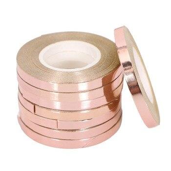 5 Pz/lotto 10 M Foil Palloncino Laser Nastro in Oro Rosa Palloncino Stringhe Partito & di Evento Forniture di Curling di Compleanno di Cerimonia Nuziale Del Partito decorazione 1