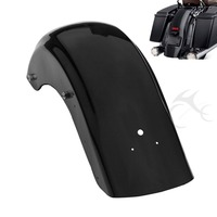 Black CVO Style Rear Fender For Harley Touring Electra Road Street Glide 2009 13 FLHT Road
