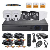 Security 4CH 720P AHD IR Camera Realtime DVR System 1 0MP Indoor Outdoor Surveillance Kit