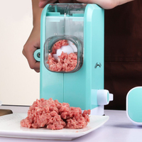 Manual Stainless Steel Blade High Quality Multifunctional Meat Grinder Rotary Sausage Maker Machine Meat Mincer For Kitchen