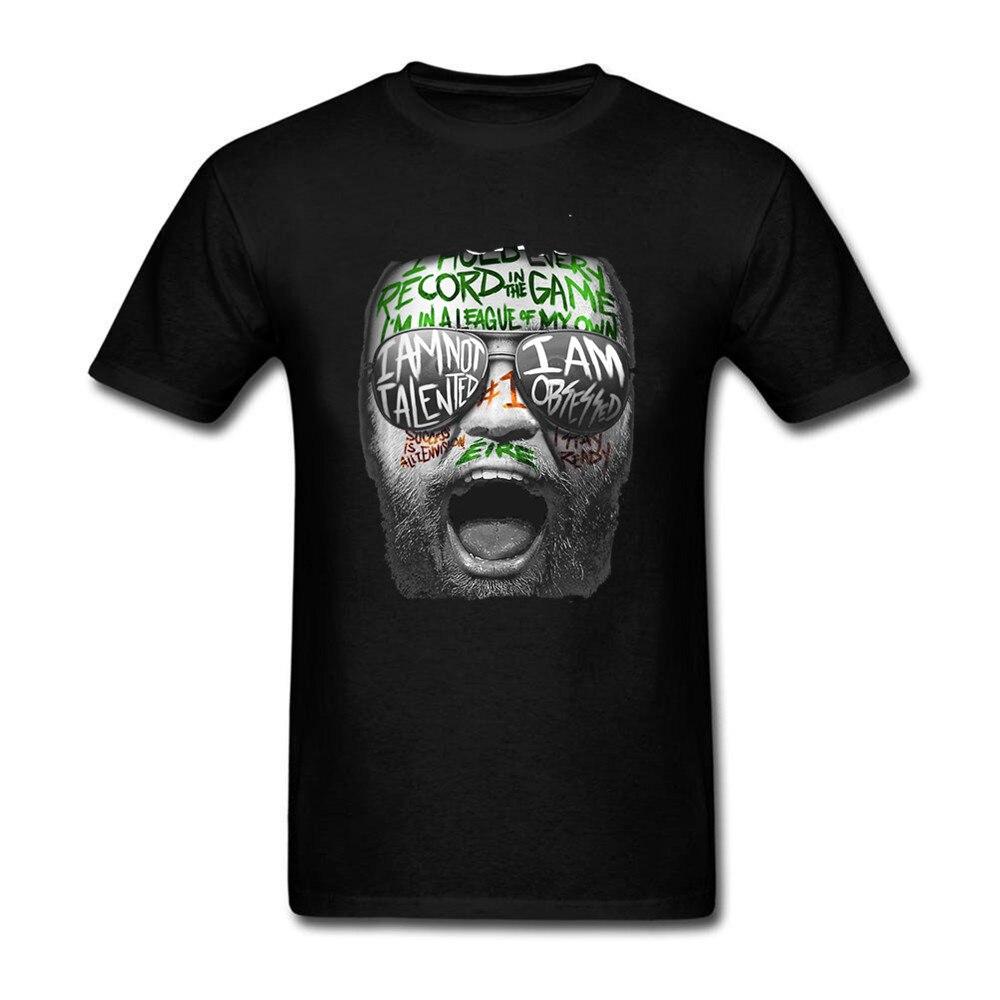 4c3ed20e3 NLKING BRAND2018 Summer New Fun CONOR MCGREGOR NOTORIOUS MMA HUNT IRELAND  IRISH t shirt menT shirt-in T-Shirts from Men's Clothing on Aliexpress.com  ...