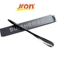 Jron Professional 52 cm Durable en acier inoxydable poignée facile en métal corne à chaussures cuillère chausse-pied chaussure outil de levage