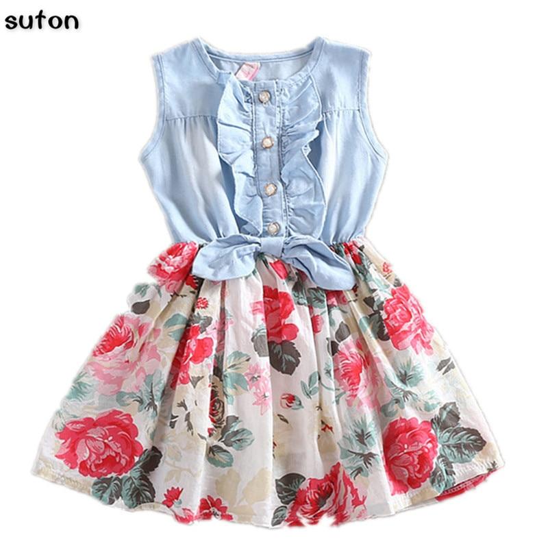Детские платья без рукавов