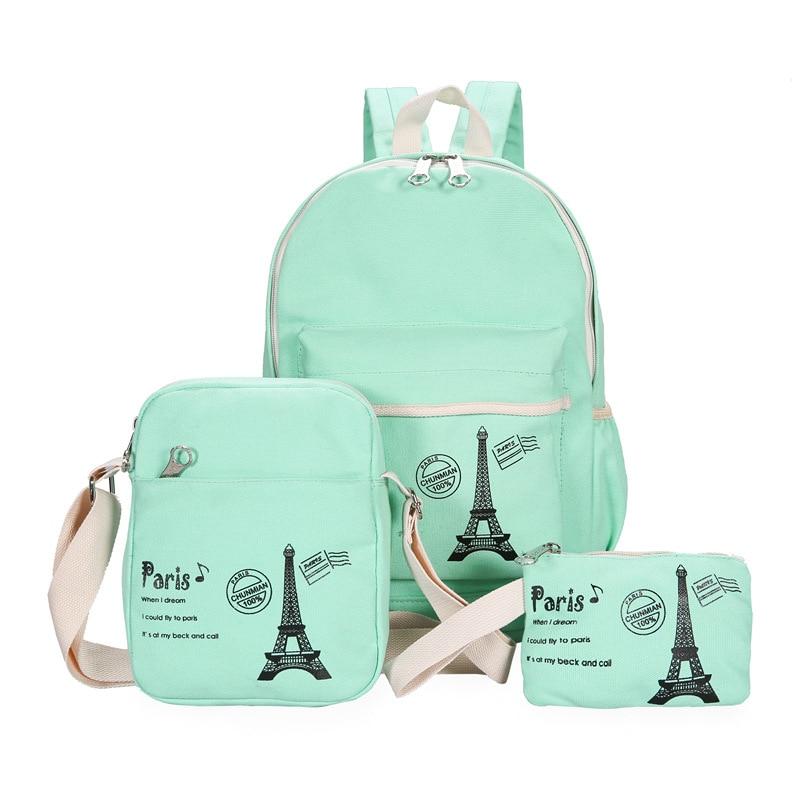 2018 Korean fashion women backpacks Fresh female bags High quality canvas school backpack Student school bag for teen girls цена
