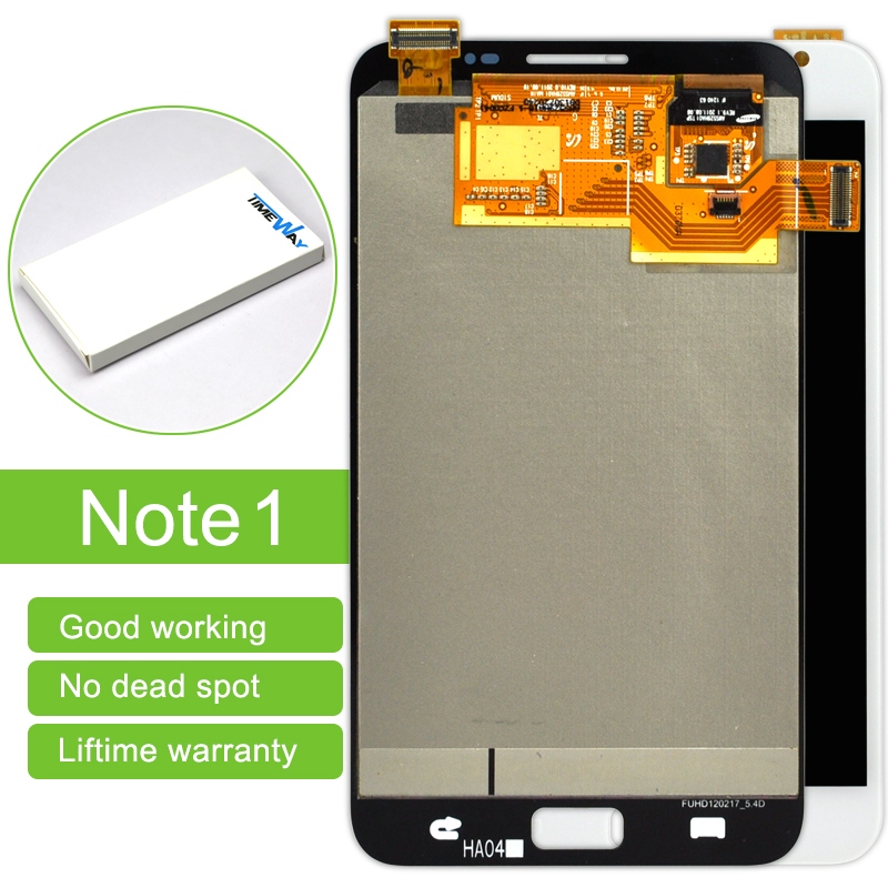 Top Fashion Rushed Dhl 5pcs For Samsung Note1 N7000 I9220 Lcd Display Touch Screen Digitizer Assembly Replacement Free Shipping top fashion dhl 5pcs high quality for