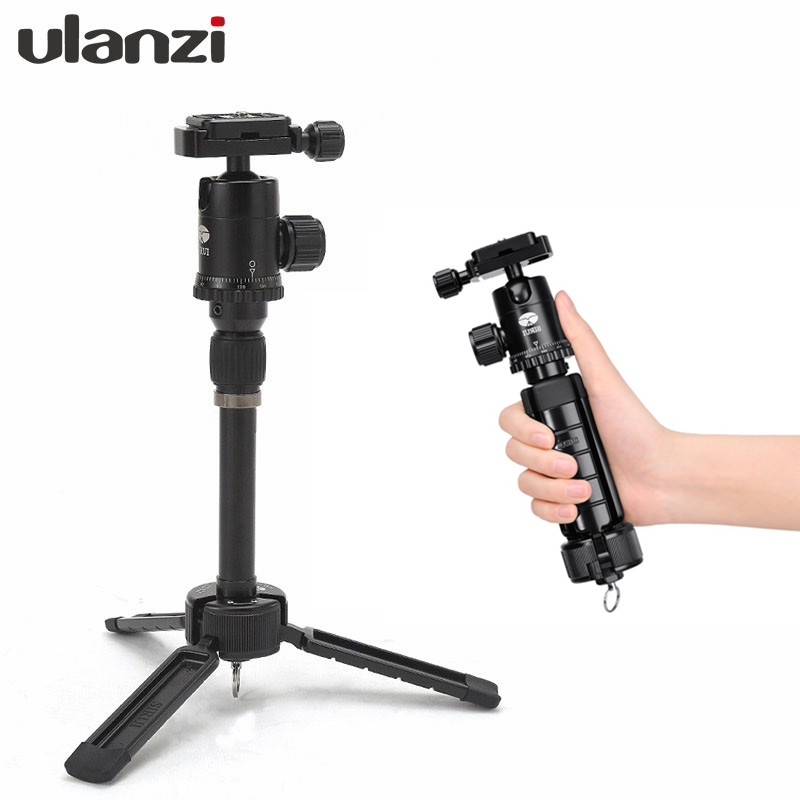 Ulanzi Sirui 3T 35 Table Top Tripod with Ball Head Case Youtube vlogging Travel Portable Compact