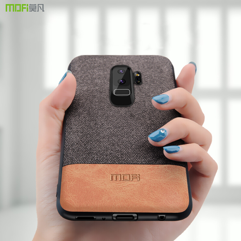 Für Samsung S9 fall Samsung Galaxy S9 plus fall abdeckung stoßfest schutzhülle S9 + capas coque MOFi fall für galaxy s7 rand abdeckung