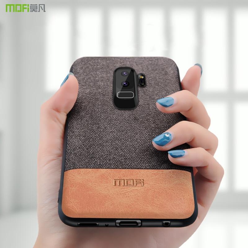 Für Samsung S9 fall Samsung galaxy S9 plus fall abdeckung stoßfest schutzhülle S9 + capas coque MOFi fall für galaxy s7 edge abdeckung