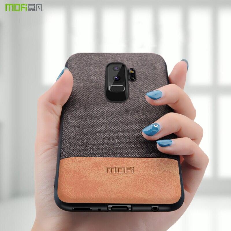 Para Samsung S9 caso Samsung galaxy S9 más cubierta protectora a prueba de choques S9 + capas coque MOFi caso para galaxy s7 edge cubierta