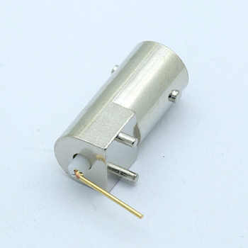 100pcs/lot BNC Female Right Angle PCB Mount BNC Socket Chassis R Connector Wholesales