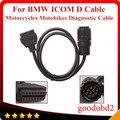 Para BMW ICOM D Cable D-motocicletas Motobikes 10 Pin adaptador de $ Number Pines A 16Pin OBD2 OBDII Cable de Diagnóstico herramienta I-COM cables