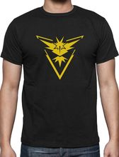 Men Short Sleeve T Shirt Go Team Instinct Gaming T Shirt Gift Quality T Shirts Men Printing Short Sleeve O Neck T Shirt