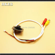 HKES Wholesale 8pcs/lot Security CCTV Camera 960P Mini AHD Camera module with BNC Cable and 3.7 mm lens