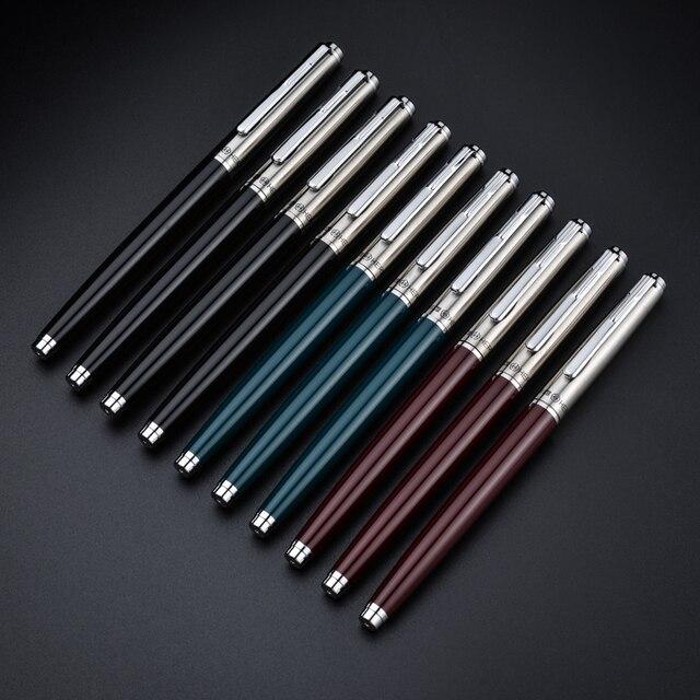 ของแท้ปากกา HERO 007 นักเรียนเขียน Calligraphy CLASSIC Iraurita Nib 0.38 มม.ปากกา