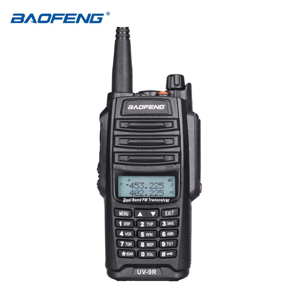 Originale Baofeng UV-9R IP67 Impermeabile Dual Band Uhf Vhf Walkie Talkie Ham Radio UV9R Walky Talky CB Two Way Radio stazione di UV 9R