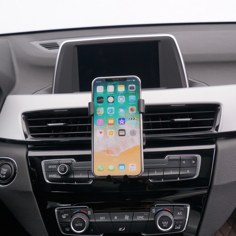 For <font><b>BMW</b></font> <font><b>X1</b></font> F48 / X2 F39 2017 2018 <font><b>2019</b></font> Car Air Vent Mount Smart Phone Holder Stand Mobile Phone Stable Cradle image