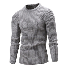La Maxpa 2017 Fashion Brand Clothing Men Sweater Simple O-Neck Slim Fit Casual Pullover Men Sweaters Knitting Mens XXL