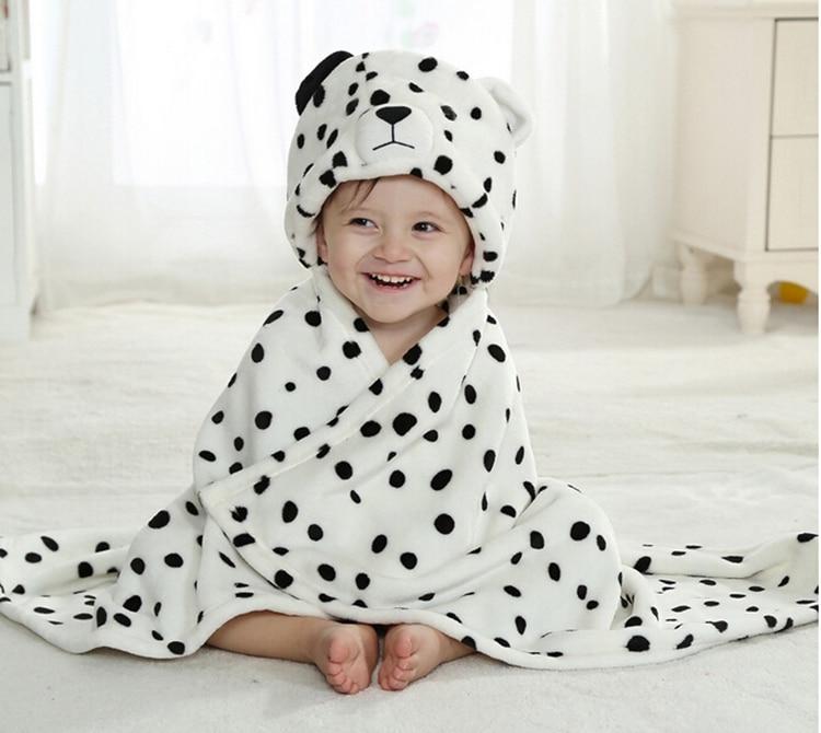 Cute Baby Blanket Newborn Baby Wrap Swaddling Animals Duck Panda