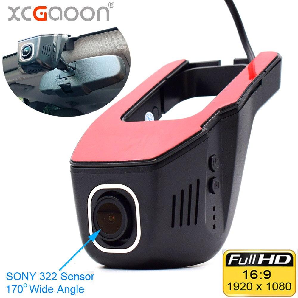 XCGaoon Wifi voiture enregistreur DVR enregistreur vidéo numérique caméscope caméra de bord 1080 P Version nocturne Novatek 96655, la came peut pivoter