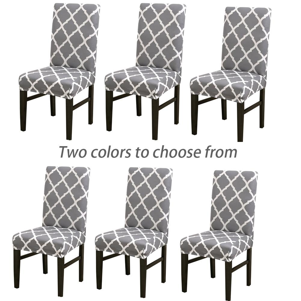Magnificent 6Pcs Nordic Geometric Elastic Chair Set Home Hotel Chair Set Onthecornerstone Fun Painted Chair Ideas Images Onthecornerstoneorg