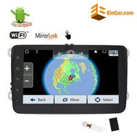 Android 7 1 2Din Car Stereo GPS Navigation Car Radio For VW Golf Passat With 8