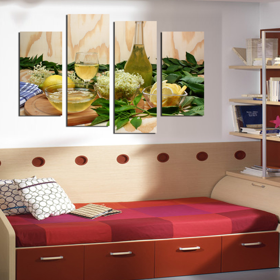 Parete Cucina Verde. Great Beautiful Pareti Cucina Verde Mela Ideas ...