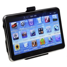 Dual-Core 4.3 inch Touch Sat Nav Car GPS Navigation FM Transmitter Bundle latest free maps