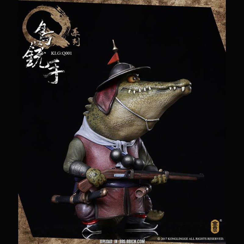 Collectible 1/6 Kongling Pavilion KLG-Q001 Borders Solider Wild Boar Model Figure  Doll Toys Gift for fans 1