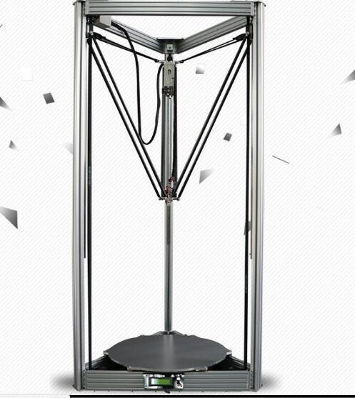 Imprimante 3D DFORCE Extra grande qualité Quasi industrielle grande imprimante 3D bras parallèle Delta Delta