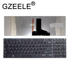 GZEELE US backlit laptop keyboard for Toshiba Satellite P55 P55t P50-A