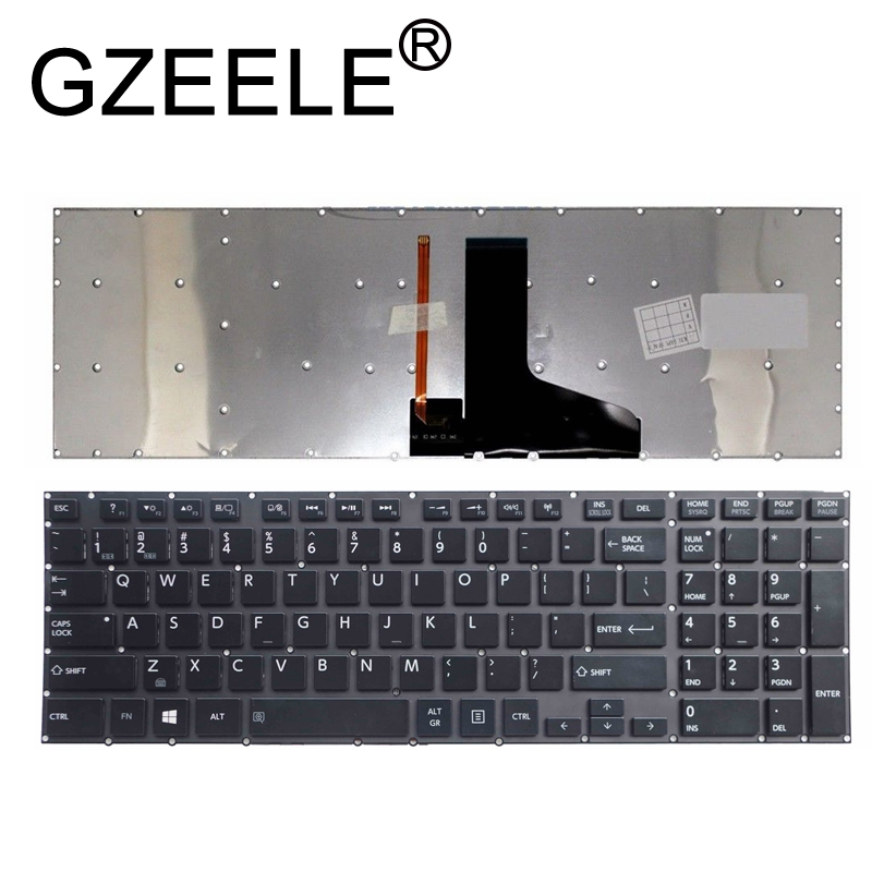 US Backlit Laptop Keyboard For Toshiba Satellite P55 P55t P50-A P50-B P55t-A5202 P55T-B P55T-A P55-B X70-A X70-B X75-A