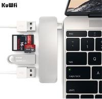 USB 3.0 5 in 1 OTG Card Reader Metal Card reader USB Type C TF HUB+SD TF Card Reader Micro SD Card Reader For Laptop PC Phone