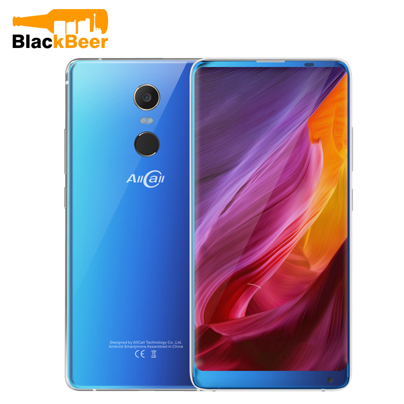 AllCall MIX 2 5.99 Inch Smartphone 6GB+64GB Wireless Charging Helio P23 Octa Core Android 7.1 3500mAh Split Screen Mobile Phone