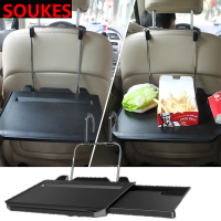 Car Steering Wheel Seat Back Computer Table Holder For Volkswagen VW Polo Passat B5 B6 CC Golf 4 5 6 7 Touran T5 Tiguan Bora