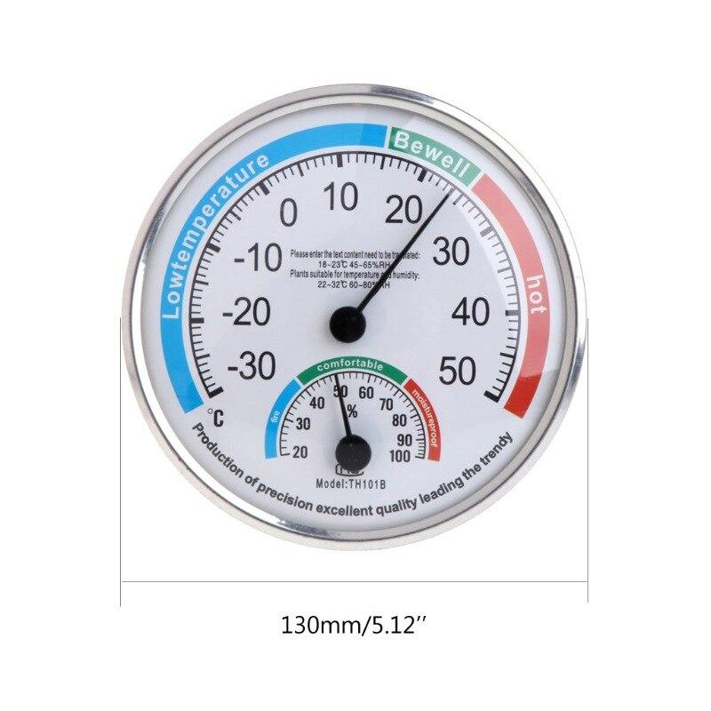 Universal Indoor Freien Nass Hygrometer Feuchtigkeit Thermometer Temp Temperatur Meter Gelb Mechanische Thermometer Werkzeuge