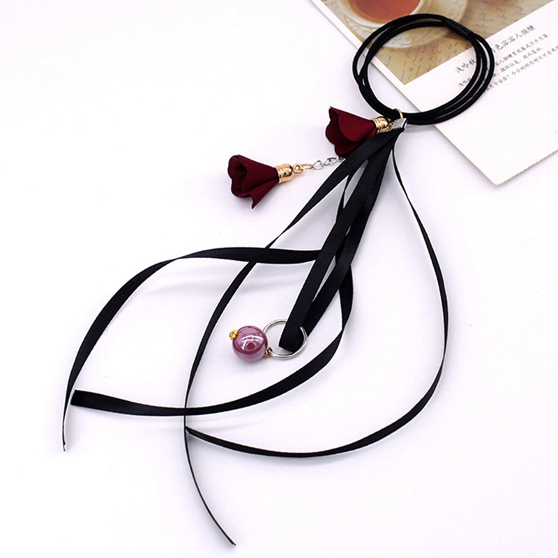 2019 Women Hair Bands Girls 1PC  Ribbon Colors Accessories Bow Fashion Hair Beach Hair Tie Elastic