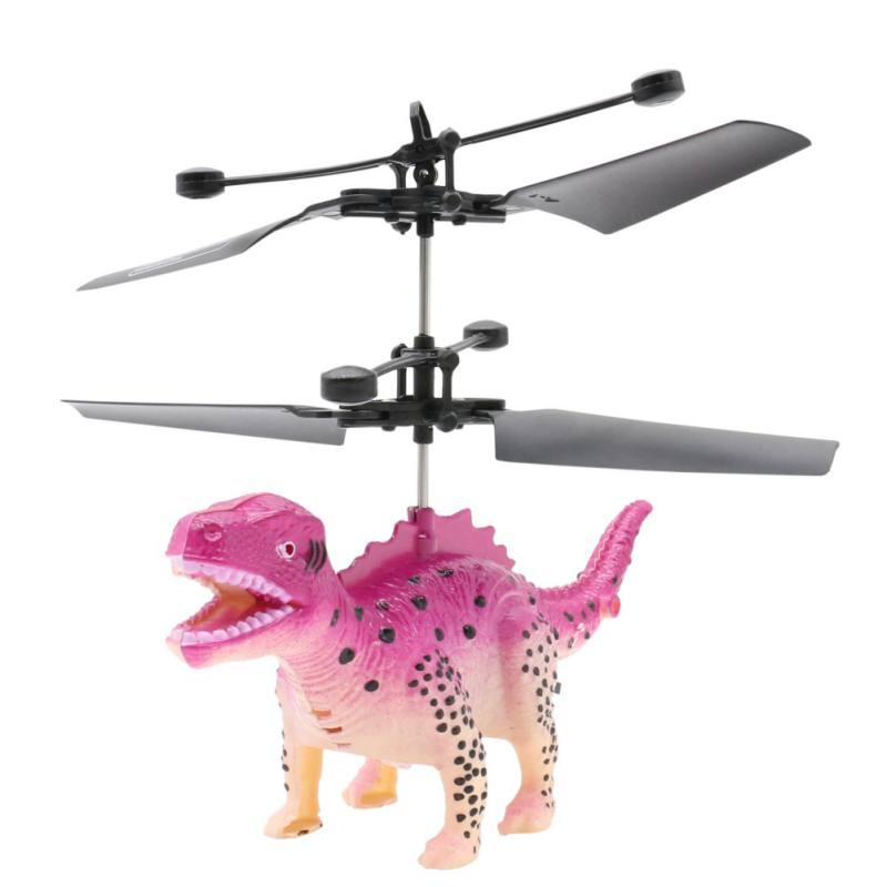Lustige Fernbedienung Dinosaurier Hubschrauber Fliegen Dinosaurier Mini RC Drone Spielzeug Kinder Geschenk RC Tier Spielzeug