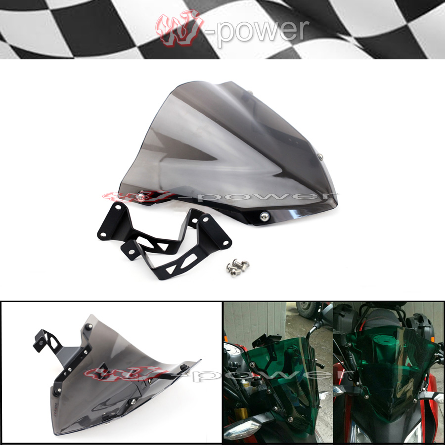 Windshield Pare brise For HONDA CB190R CB 190R 2016 2017 2018 Motorcycle Accessories Windscreen Smoke