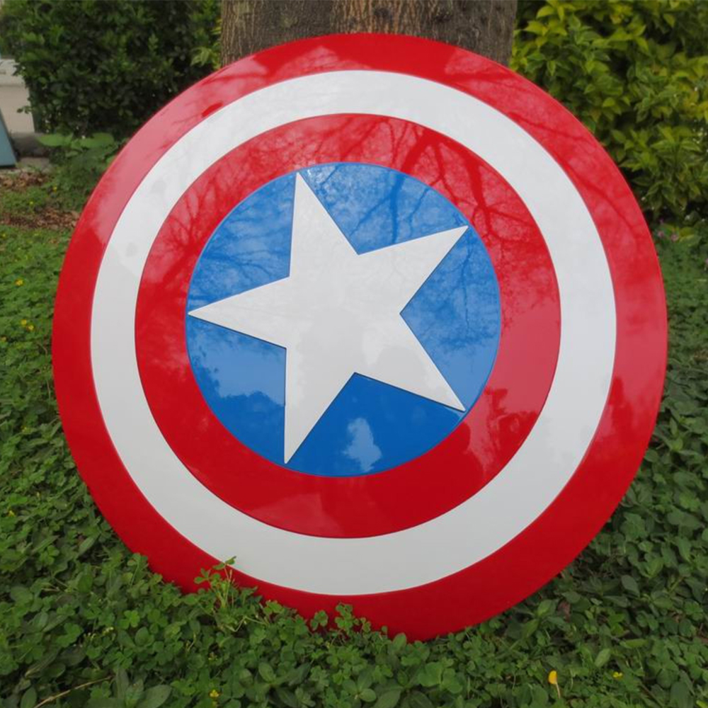 DOOLNNG Iimited Edition Avengers Civil War Captain America 57CM Shield 1:1 Cosplay Steve Rogers ABS Model Adult Shield Gift 2016 the avengers civil war 1 1 captain america shield 1 1 steve rogers replica abs model figure cosplay