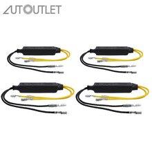 AUTOUTLET 4 шт. 21 Вт 26ohm нагрузочный резистор мотоцикл светодиодный указатель поворота Flasher резисторы индикатор контроллер мигалка исправить ошибку