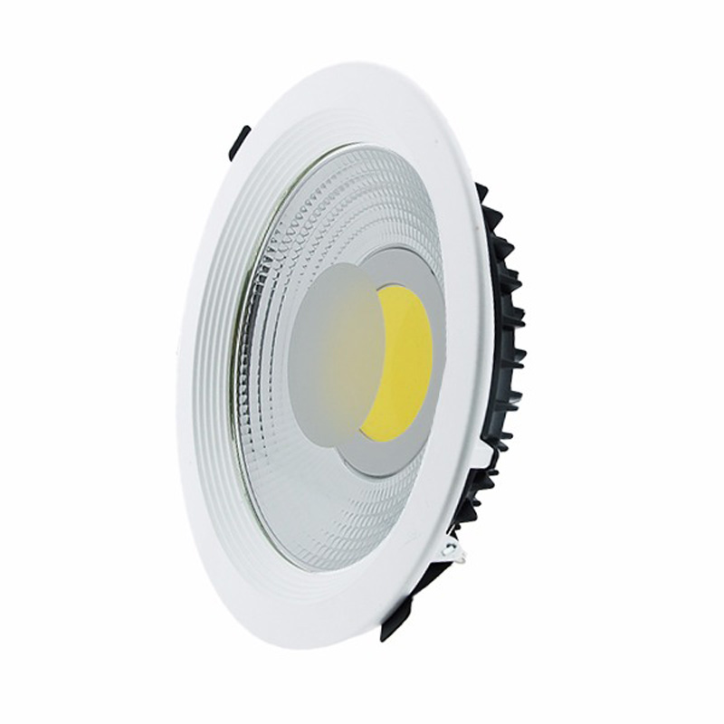 M 5PCS Spanish Direct Sale Recessed Led Cob Downlight Dimmable LED Spot Light Led COB 30W/40W/60W Ceiling Lamp AC 220V D22.5*6cm no dimmable recessed led downlight cob 40w 60w led spot light led ceiling lamp ac110v 220v free shipping