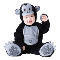 New Infant Toddler Baby Boys Gorilla Monkey Ape Animal Costume Halloween Dress up Cosplay Outfits Purim Holiday Costume