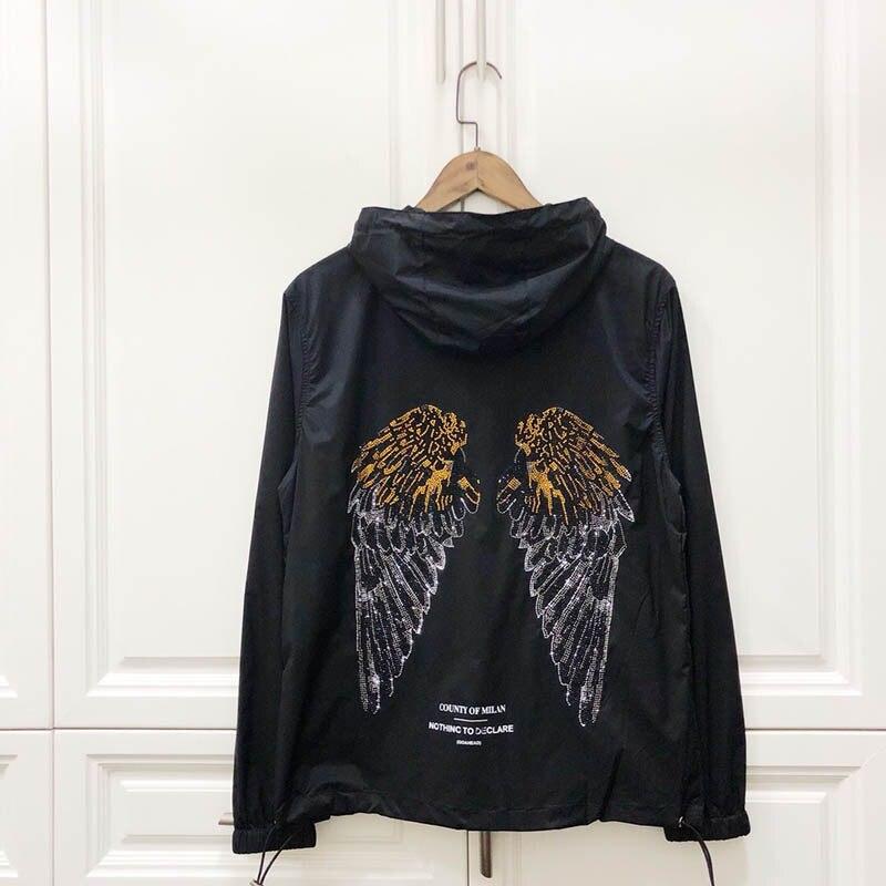 Marcelo Burlon Jackets Men Women Fog Outdoor Sunscreen Italy 19ss Windbreaker Wings Mb Vetement Soft Marcelo Burlon Jackets