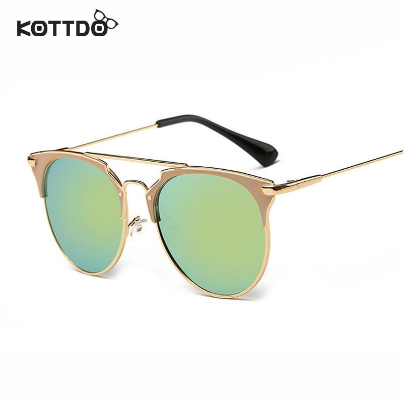 Runde Sonnenbrille mit halbem Rahmen Frauen Retro Vintage - Bekleidungszubehör - Foto 2