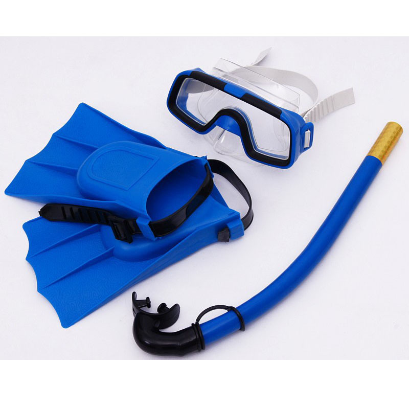 4 colour kid swimming diving 3 sets child scuba diving equipment snorkeling diving mask goggle