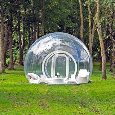 Inflatable Lawn Tent Outdoor Clear Inflatable Tent Weatherproof Fully-Automatic Wild 3 - 4 Double & Inflatable Lawn Tent Outdoor Clear Inflatable Tent Weatherproof ...