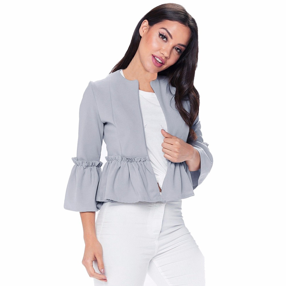 Popular Ruffle Front Blouse-Buy Cheap Ruffle Front Blouse lots ...