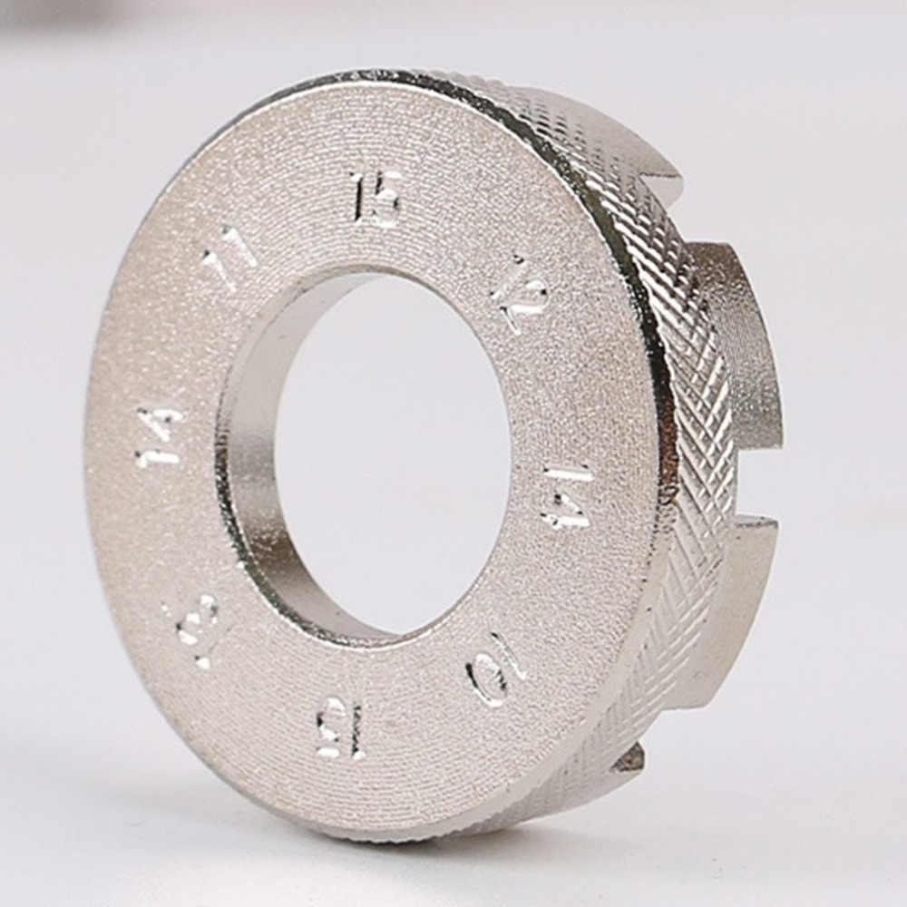 مفتاح ربط محمول وصغير بمقاس 10-15 جرام أداة ضبط متينة للدراجات الهوائية أداة إصلاح مفتاح براغي بعجلة احترافية شحن سريع